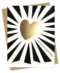 Everything Heart by Night Owl Paper Goods - $5.00