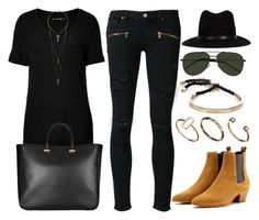 Style #9167 by vany-alvarado on Polyvore featuring polyvore, мода, style, rag & bone, Paige Denim, Yves Saint Laurent, The Row, ASOS and Relic