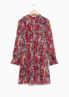 & Other Stories Climbing Flower Mini Dress Climbing Outfits, Sweaters And Jeans, Flower Dresses, Star Fashion, Get Dressed, Fit And Flare, Fall Outfits, Ready To Wear, Autumn Fashion