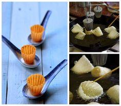 Indonesian Medan Food: Selat Popiah / Pai Tie / Top Hat