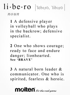 I squealed when I became a Setter but being a Libero is what made me love Volleyball Libero Volleyball, Volleyball Jokes, Volleyball Motivation, Volleyball Drills, Coaching Volleyball, Volleyball Setter, Volleyball Positions, Volleyball Hair, Sports