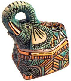 Artesania Rinconada - De Rosa Box Collection elephant box
