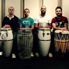 Bloco Os Capoeira promove oficina de percussão no Jongo Reverendo