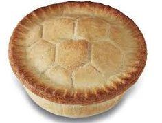Football pie - goooooooaaallllll!