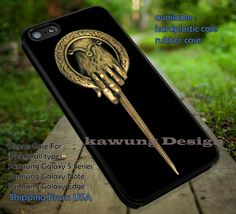 Game of Thrones Hand of The King iPhone 6s 6 6s  5c 5s Cases Samsung Galaxy s5 s6 Edge  NOTE 5 4 3 #movie #gameofthrones dt