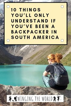 Returning to normality after an incredible backpacking trip around South America can be hard. If you're trying to readapt, take a walk down memory lane! Backpacking South America, Backpacking Asia, South America Travel, Machu Picchu, Bolivia, Ecuador, Patagonia, Puerto Natales, Titicaca