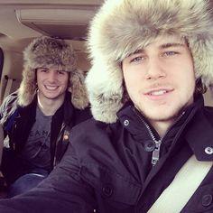 Christian Thomas and Nathan Beaulieu