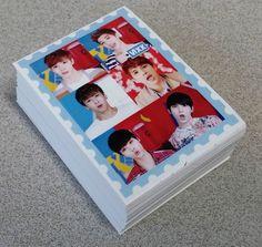 VIXX Photo Mini Sticker 70 pcs Korea KPOP Star Gift New