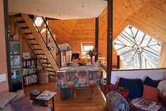 Dome Home Lounge Room