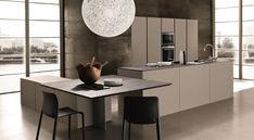 Gallery - theorem kitchen: open kitchen friendly-- a different kind of table arrangement