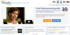 Flexjobs search service for global telecommuting jobs Flex Job, Susa, Part Time Jobs, Get Out Of Debt, Early Retirement, Budgeting, Search, Life, Truths