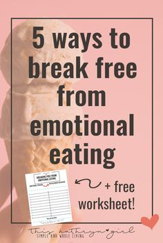 Emotional eating can feel like a trap. When we eat based our feelings, there are so many harmful results. Learn how to STOP eating emotionally! | This Kathryn Girl