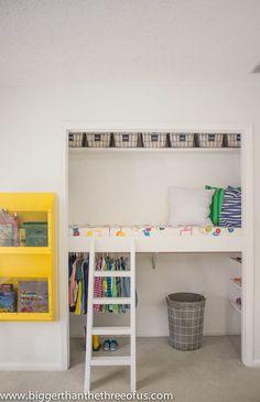 DIY Closet Loft