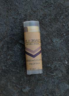 lavender + eucalyptus | raw lip balm