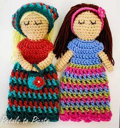 Customizable Doll With Extras Amigurumi Pattern