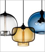 These lamps are AMAZING. We've been looking for the perfect chandelier...I may have to get one from NICHE!