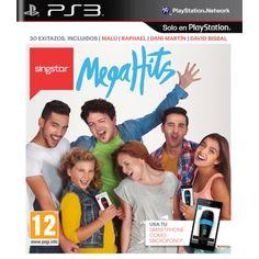SingStar MegaHits PS3  Fecha lanzamiento:30-10-2014