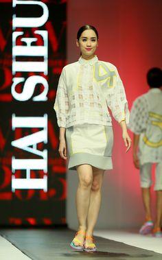 Vietnam Fashion Week SS15 - Ready to wear. Designer:HAI SIEU. Photo: Nguyen Thanh Dat