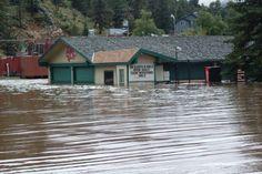 """Historic September Flooding In Colorado 2013 """"ESTES PARK"""""""