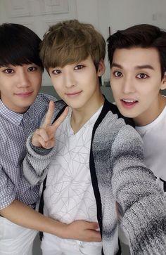 Jun, Kevin, Eli | U-KISS