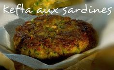 Ingrédients pour kefta aux sardines 500 g de sardine 1 pomme de terre ¼ botte de persil ½ oignon 1 œuf 2 poignet...