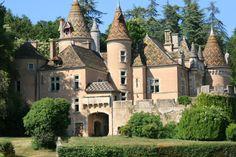 Château de Burnand en Saône-et-Loire
