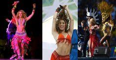 Shakira: primera artista que actúa en tres ceremonias consecutivas del Mundial