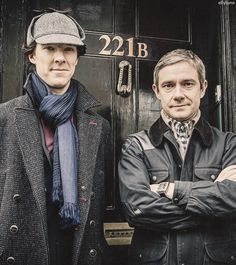 Series 3 promo pic. Is it just me, or do they look slightly out of character? [xpost r/MartinFreeman] - Imgur
