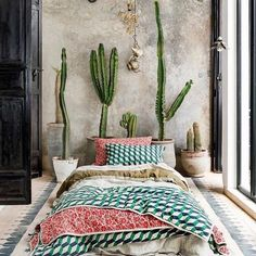 Are you looking for the simple and the quickest idea to turn the boring outlook of your bedroom into the exciting bohemian style? grab out this wonderful project. The most attractive look is delivered to this bedroom area with the fabulous use of different colors and patterns. Your bedtime will be really comfortable with it.