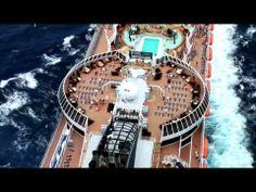 MSC Splendida & MSC Fantasia, cruise ship video
