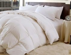 High Quality-Down and Feather- 95/5 Year Round - Comforter - Quality House