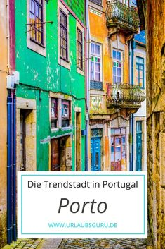 Insider tips for a short trip to the Portuguese trendy city of Porto! Source by urlaubsguru Porto Portugal, Visit Portugal, Spain And Portugal, Portugal Travel Guide, Europe Travel Guide, Europe Destinations, Algarve, Best Places In Portugal, Douro