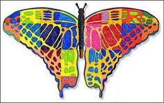 A Butterfly Mural!  Love it!
