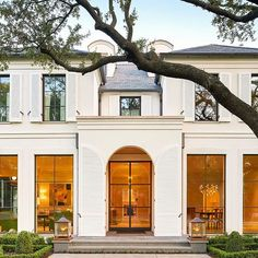 exterior design by collins interiors | dallas interior designers | collins-interiors.com