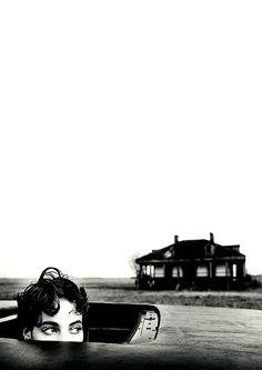 Christy Turlington, by Arthur Elgort.