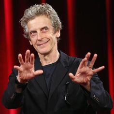 For me, obviously to get to play the Doctor, the whole things is a delight. Some of my favourite moments are when we reveal something of the Doctor's more alien nature. For instance, in Kill the Moon when he's able to look in to time and read it, and communicate that, I think that was fun to do.