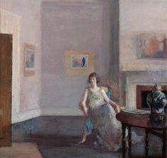Frederick Andrew Bosley ~ In the Studio, 1921 ~ (American: 1881-1941)