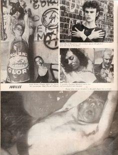 Dangerous Minds | Original Photo-spread for Derek Jarman's 'Jubilee'