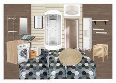 """душевая"" by margarita-shoshina on Polyvore featuring interior, interiors, interior design, дом, home decor и interior decorating"