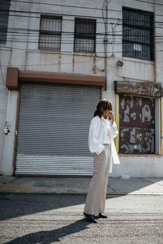 Nina Ricci beige pants