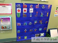 beginning sounds center (great for RTI, too!)