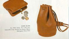 Vintage Coach, Vintage Bags, Vintage Items, Coach Handbags, Coach Purses, Coach Bags, Timeless Fashion, Vintage Fashion, Vintage Style