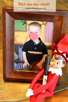 Busy Kids = Happy Mom: Christmas Fun with our Elf-on-the-Shelf!