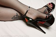 So Gorgeous, like a piece of Art.. #hothighheelsstockings