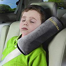 Safety Seatbelt Strap Cover for Travel,Napping Neck Support Pillow SayHia Seat Belt Pillow for Kids,Seatbelt Shoulder Cushion Pad