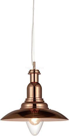 LampGustaf Lampa wisząca Portland 104710 : Lampy wiszące metalowe : Sklep internetowy Elektromag Lighting #copper #lamp