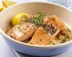 Rôti de saumon régime au fromage frais : http://www.fourchette-et-bikini.fr/recettes/recettes-minceur/roti-de-saumon-regime-au-fromage-frais.html