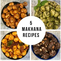 Makhanas are popularly known as lotus seeds, fox nuts, Euryale ferox, gorgon nuts and phool makhana. It's actually the puffed lotus seeds or the puffed fox nuts that has high nutritional and medicinal values and mostly grown in states of Bihar in Indian. Lunch Box Recipes, Veggie Recipes, Indian Food Recipes, Vegetarian Recipes, Cooking Recipes, Healthy Recipes, Diwali Recipes, Baby Recipes, Vegetarian Soup