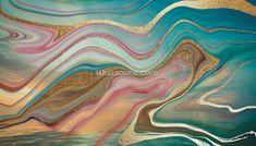 Ombre Strata Wall Mural | Wallsauce US Marble Effect Wallpaper, Wall Wallpaper, Camberwell College Of Arts, Gold Framed Mirror, Flower Wallpaper, Wassily Kandinsky, Graphic Design Illustration, Designer Wallpaper, Gustav Klimt