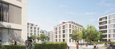 Neubau-Immobilien Dresden - Bauträger-Projekte und Bauvorhaben bei http://dresden.neubaukompass.de/ - Foto: Quartier Striesen plus - VIAREALIS GmbH
